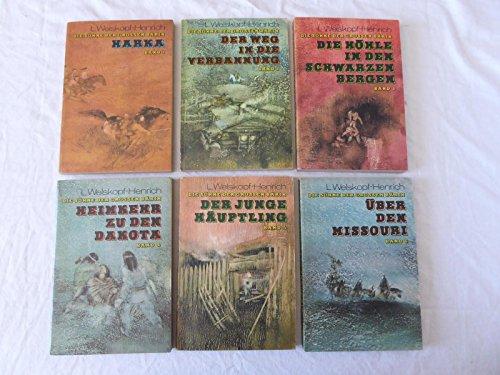 Buchseite und Rezensionen zu 'Die Söhne der großen Bärin Band 1 bis 6' von Liselotte Welskopf-Henrich