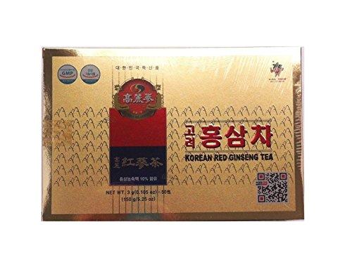 Pamai Pai® Roter Ginseng Tea 150g Getränk aus Korea mit rotem Ginseng Granulat Instant Ginsengtee