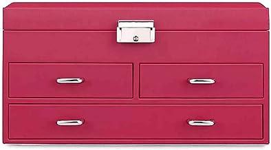 GPWDSN Opbergdoos met slot en sleutel - Opbergdozen voor opbergvakken voor accessoires (A)