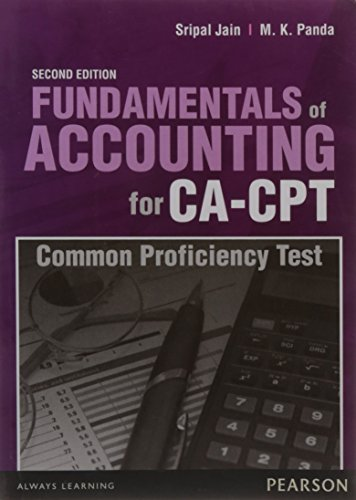 Fundamentals of Accounting for CA-CPT, 2e