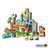 Vtech 80–604904BLA-BLA Blocks–Alphabet Maison de frein de Construction Jouet de Construction 'Version allemande'