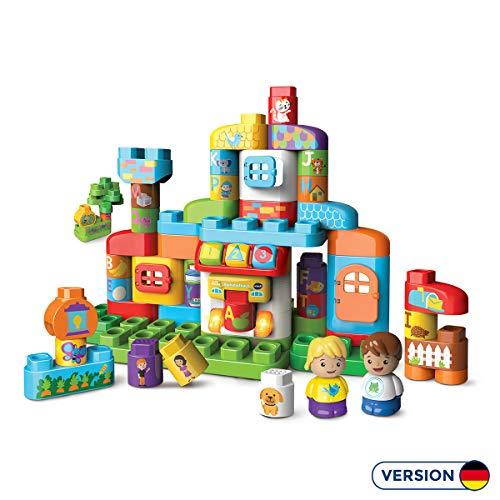 Vtech 80–604904 BLA-BLA Blocks – Alphabet Maison de frein de Construction Jouet de Construction \