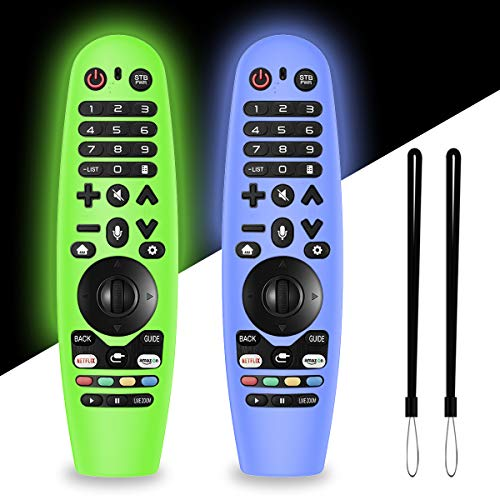 2 Packs Silicone Remote Cover for LG AN-MR19BA / LG AN-MR18BA / LG...