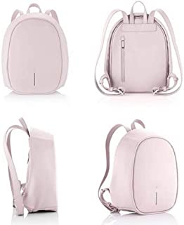 Well-Made Outdoor Travel Casual Eggshell Bag Ladies Small Backpack Fashion Mini Backpack Large Capacity Size: 23 * 11 * 30cm Dynamic (Color : Pink)