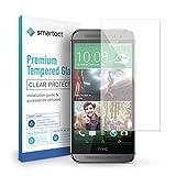smartect Panzerglas kompatibel mit HTC One M8 / M8s - Bildschirmschutz mit 9H Festigkeit - Blasenfreie Schutzfolie - Anti Fingerprint Panzerglasfolie