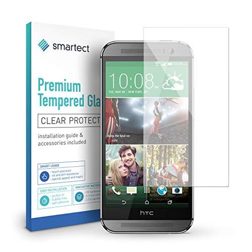 smartect Panzerglas kompatibel mit HTC One M8 / M8s - Displayschutz mit 9H Härte - Blasenfreie Schutzfolie - Anti Fingerprint Panzerglasfolie