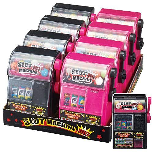 玩菓 スロットマシンBIG 8個入りセット 13649BOX お家遊び ガム 玩具 TOY おもちゃ おやつ 子供 キッズ ギフト プレゼント