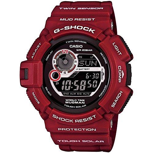 G-Shock g9300rd-4Master de G Series Funda Reloj–Rojo/Negro/Talla única