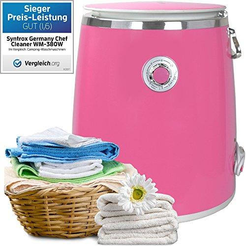 Syntrox Germany 3kg WM DI 380W lavatrice con fionda Camping lavatrice Mini Lavatrice
