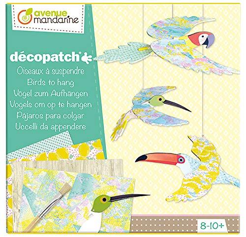 Avenue Mandarine KC060C, creatieve geschenkdoos, decoratieve vogel, om op te hangen, meerkleurig