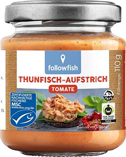 followfish MSC Thunfisch-Aufstrich Bio-Tomate, 110 g