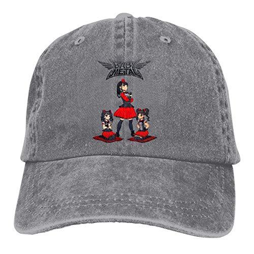 Tengyuntong Babymetal Unisex Sombrero de bisbol Sombrero de Vaquero, Sombrero de Camionero, Visera para el Sol