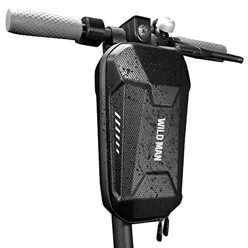 Lixada Sac de Transport + Sac de Tube Avant de Scooter, Grande capacité, Sacoches de Guidon, Sac de Rangement pour Outils/téléphone Portable, Sac Paniers Compatible avec Xiaomi Mijia M365 (Type 2)