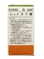【第2類医薬品】剤盛堂薬品ホノミ漢方 イネツ錠 360錠