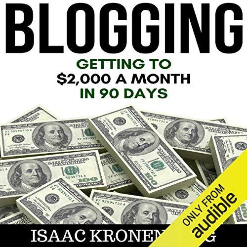 Blogging cover art