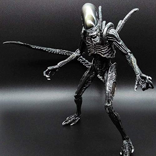 Qivor Action Figure Figurine 7 inches Scale Mixed blood Alien Collector's Action Figure Series Ⅱ for Aliens Fans from Aliens Vs Predator