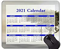 2021年のカレンダーマウスパッド、休日、キリンの木アフリカのマウスパッド