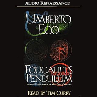 Foucault's Pendulum audiobook cover art