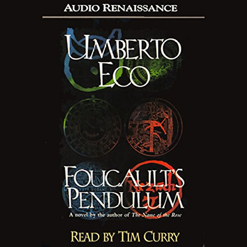 Foucault's Pendulum audiobook cover art