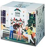 Gin Adventskalender 2021 mit Tonic Water, Snacks und mehr von LIQUID DIRECTOR I Gin-Kalender als Geschenk für Männer und Frauen I insgesamt 6,3 kg