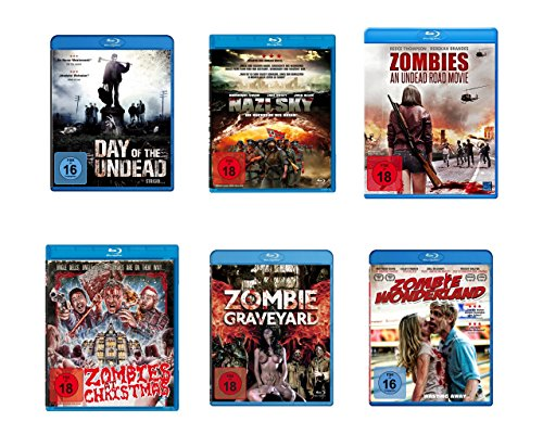 Zombie Comedy - Blu-ray 6er Pack