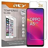 Protector de Pantalla para OPPO A5 2020 - A9 2020 - OPPO Reno Ace - REALME X2 Pro, Cristal Vidrio Templado Premium (Pack 3X)