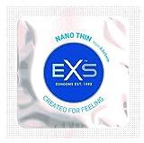 EXS Condoms Preservativos nano finos, paquete de 100, 236 g