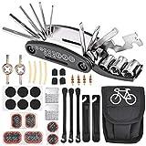 Nabance Bike Tool Kit Repair Kit Bicycle Multi Tool Tire Puncture Kits Patch