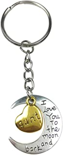 Keychains Bulk Family Key Ring I Love You To The