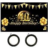 LOPOTIN 40. Geburtstag Deko 40 Jahre Geburtstagsdeko 40er