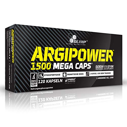 2 x Olimp Argi Power 1500, 120 Mega Caps (2er Pack)