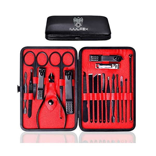 Beauty Shopping Manicure Set Nail Clipper Set Nail Grooming Kit for Men Women Manicure Kit 20 In
