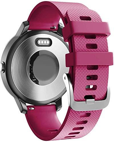 Gransho Compatible con Polar Vantage M Correa de Reloj, Banda de Reemplazo Silicona Suave Sports Pulsera (22mm, Pattern 7)