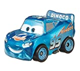 Disney Pixar Cars Mini Racers - Lista 2 (Dinoco Mcqueen Metálico)