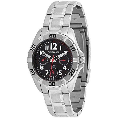 TIME FORCE TF-4133B04M Reloj para Chico, Multifunción