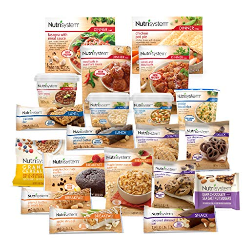 Nutrisystem® Kickstart Red Kit - Real Balanced Nutrition® - 5-Day Weight Loss Kit with Delicious Meals & Snacks