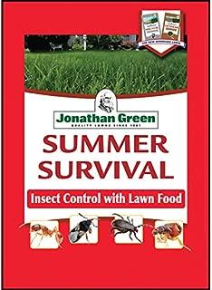 Jonathan Green 12011 Summer Survival Insect Control Plus Lawn Fertilizer, 18-0-3, 5M