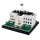 REVVIT Architecture White House Micro Building Blocks (2300 Pieces) Creative Building Set for Adults and Teens.