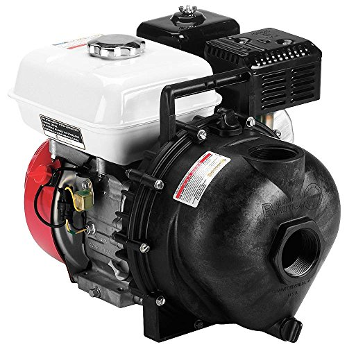 "Banjo 200PH-5 Polypropylene Centrifugal Pump, Gas Engine, 120 Max Head (ft), 5.5 HP, 3600 RPM , 55 psi Max Pressure, 2"" NPT"