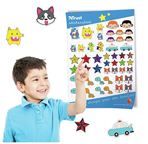 Sticker zum verschönern der Kinderkopfhörer