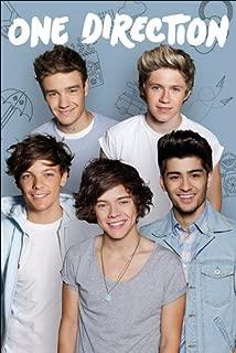 Pyramid International One Direction English Irish Pop Boy Band Music Group Cool Wall Decor Art Print Poster 24x36 inch