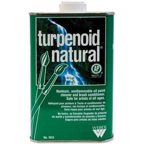 Weber Natural Turpenoid, 473ml Bottle