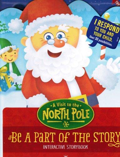 Hallmark Interactive Storybook A Visit to the North Pole XKT1070