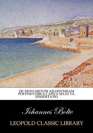 De monumentis ad Odysseam pertinentibus capita selecta. Dissertatio