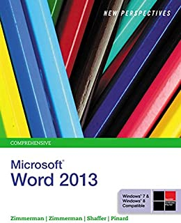 Best new perspectives on microsoft word 2013 comprehensive Reviews
