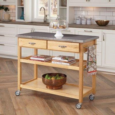 Large Kitchen Island Cart Wheels Rolling Buy Online In Faroe Islands At Desertcart