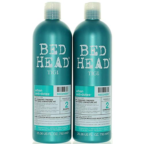 TIGI Bed Head Urban Anti-dote Recovery Shampoo & Conditioner Duo Damage Level 2 (25.36oz)