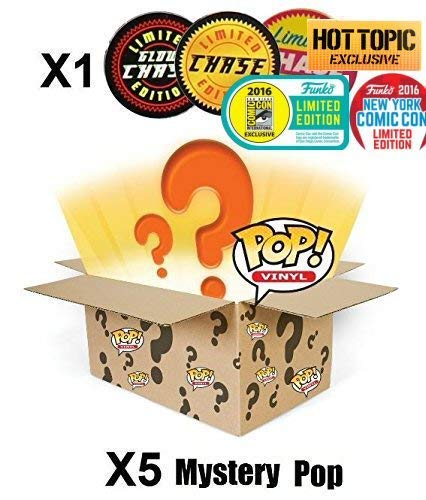 Funko Mystery Box ! incl. CHASE (Insgesamt 6 Stück)