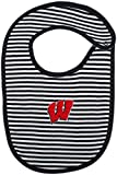 University of Wisconsin Badgers Striped Baby Bib