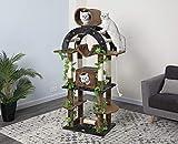 Go Pet Club F2096 Luxury Climber Cat Tree, 71'